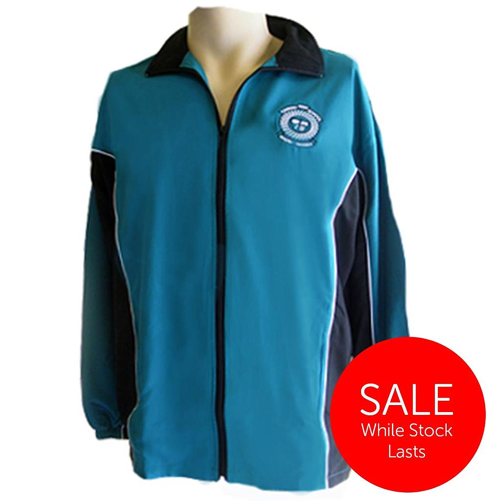CHS Track Jacket MF Teal 7-12 (D)