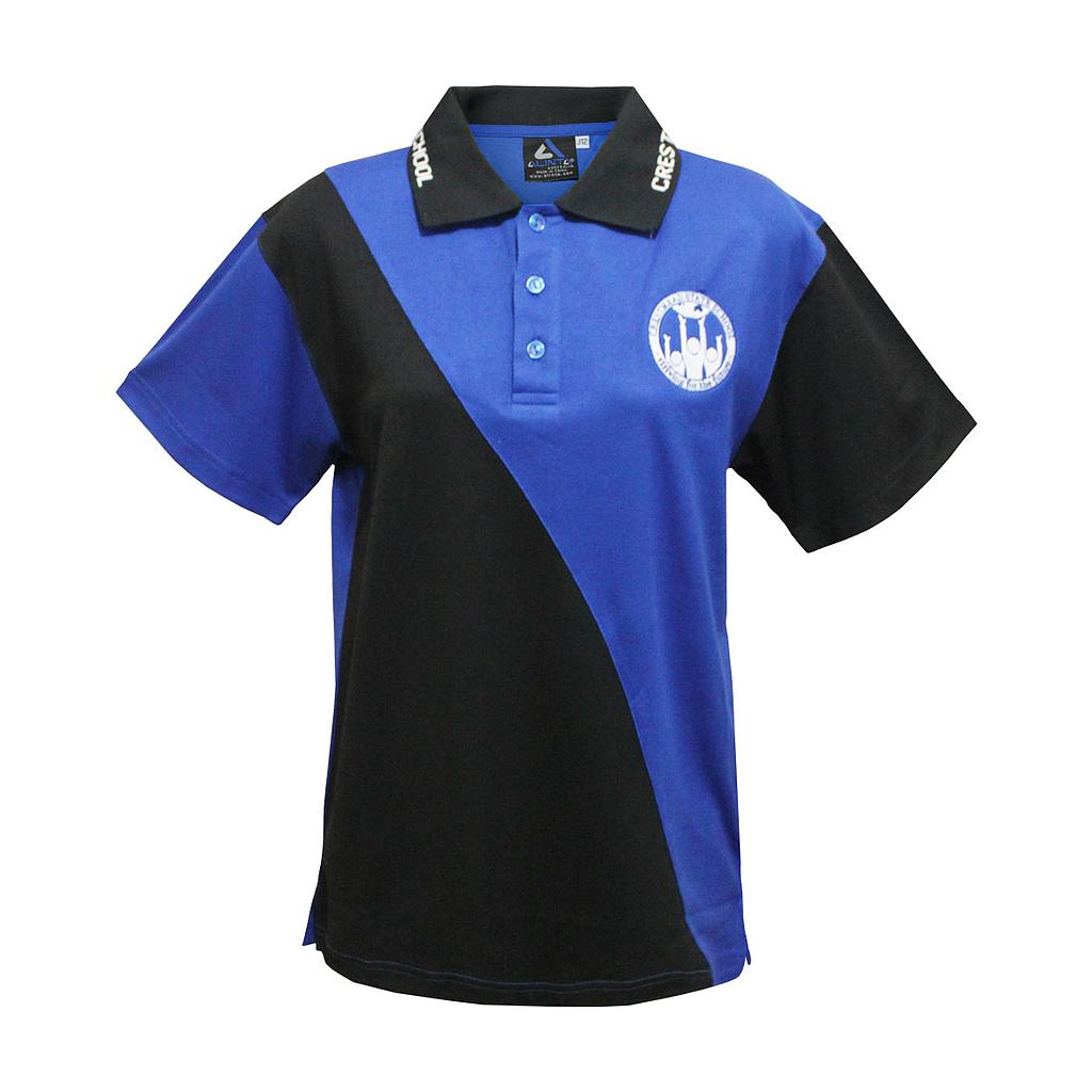 CMS Polo Formal Blue/Black Yr6