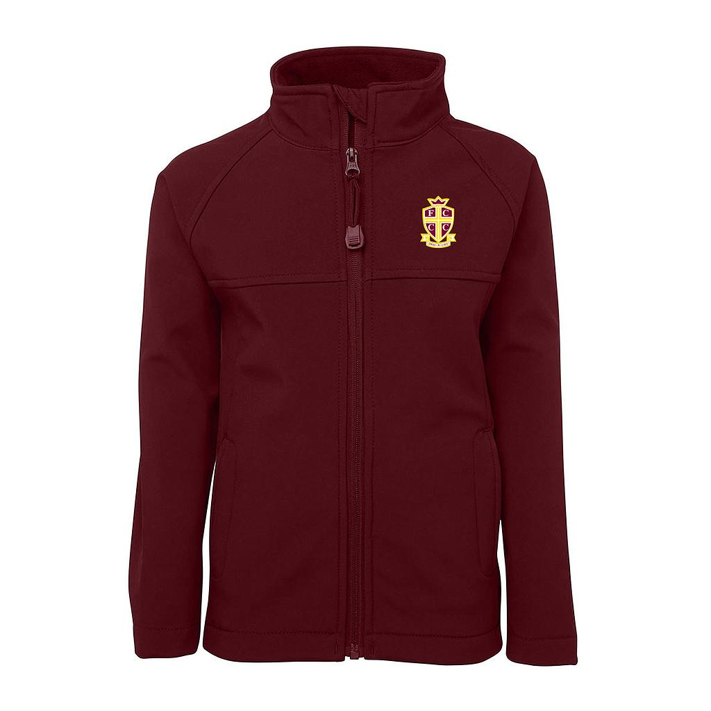 FCT Jacket Soft Shell Maroon P-12