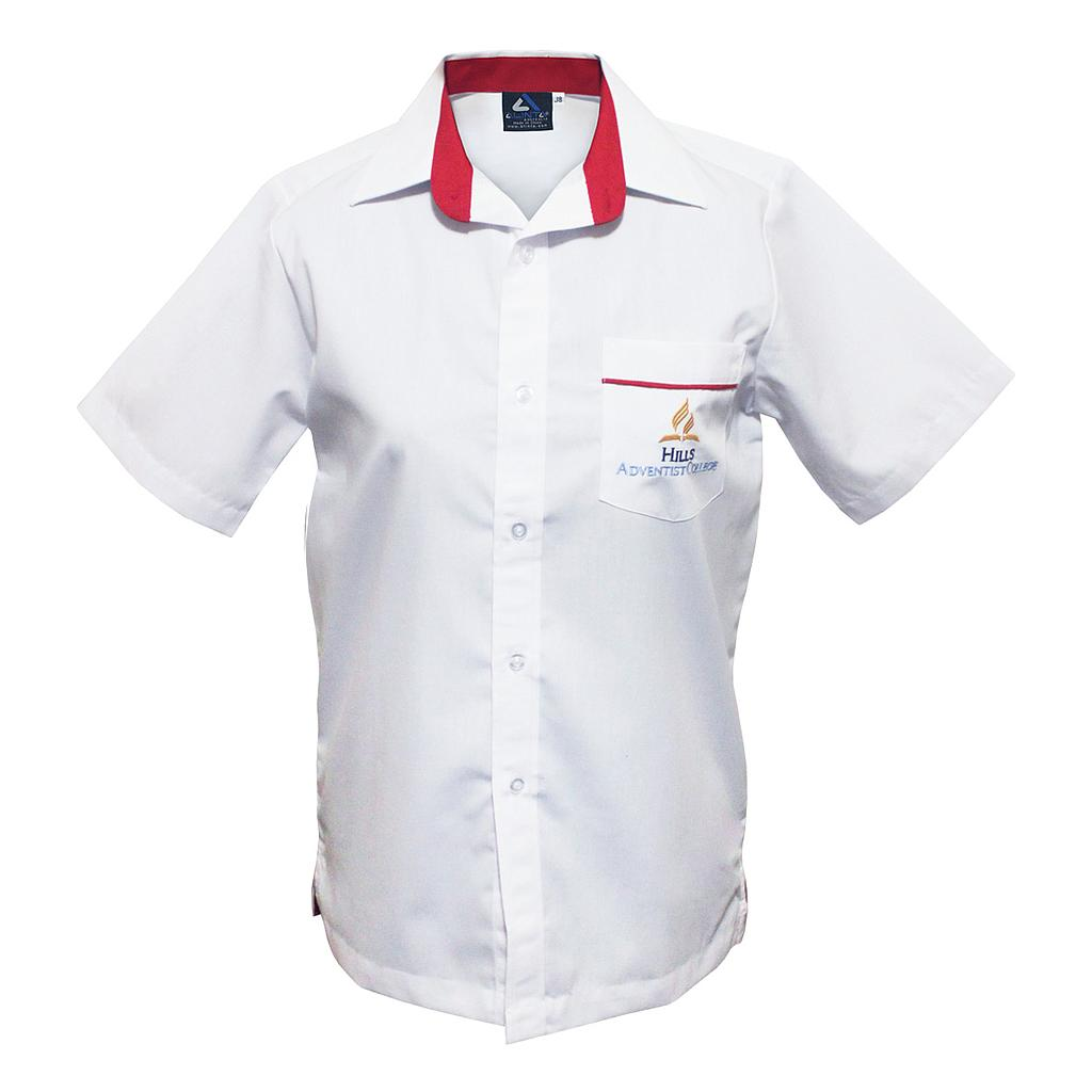 HAC Shirt SS Boys White PC 5-8