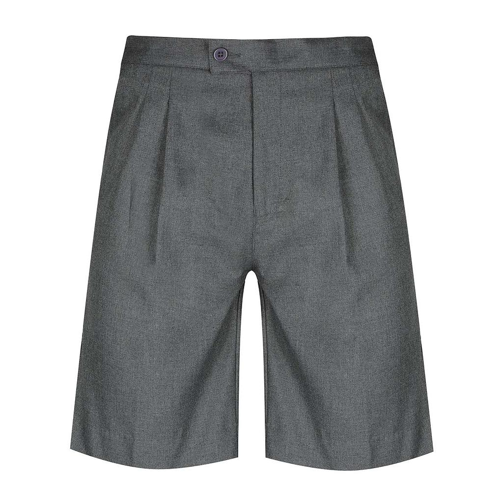 ICC Shorts E/B Boys Lgt Grey PV K-6