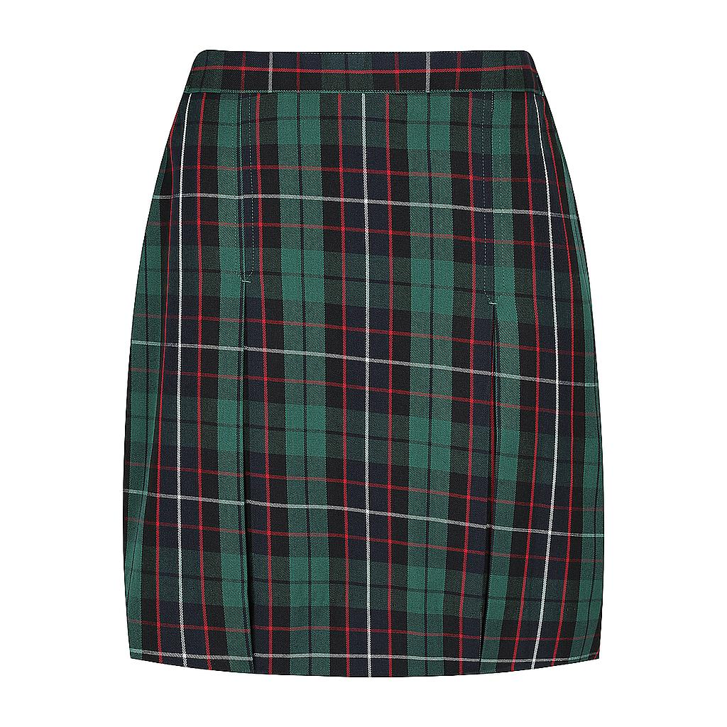 KCA Skirt Tartan Girls 7-9