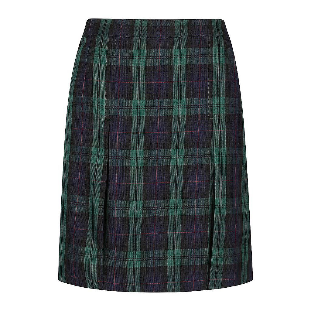KCA Skirt Tartan Girls 10-12