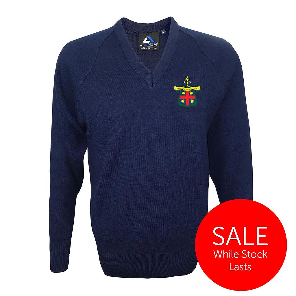 MAG Jumper Wool Navy (D)