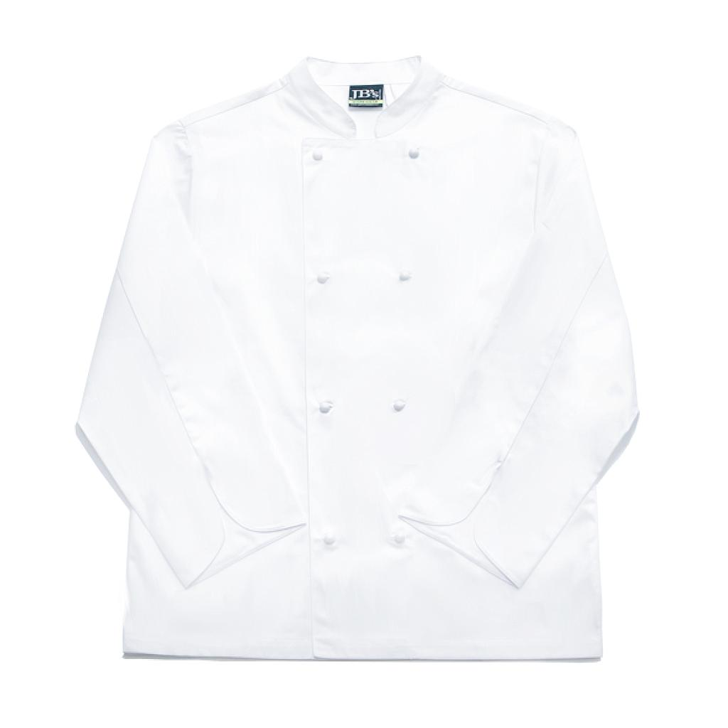 SFX Jacket Chefs White + Buttons