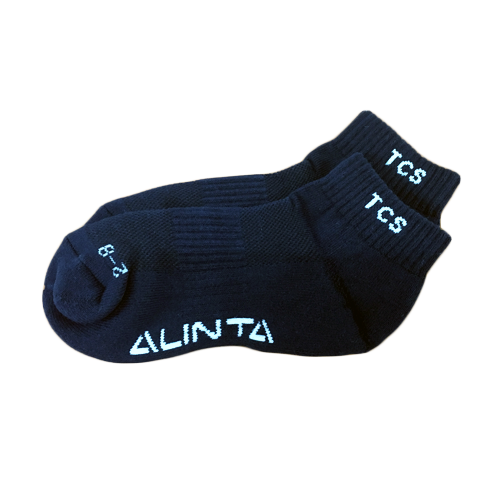 TCS Sock Anklet Boys Navy 9-12 1pk