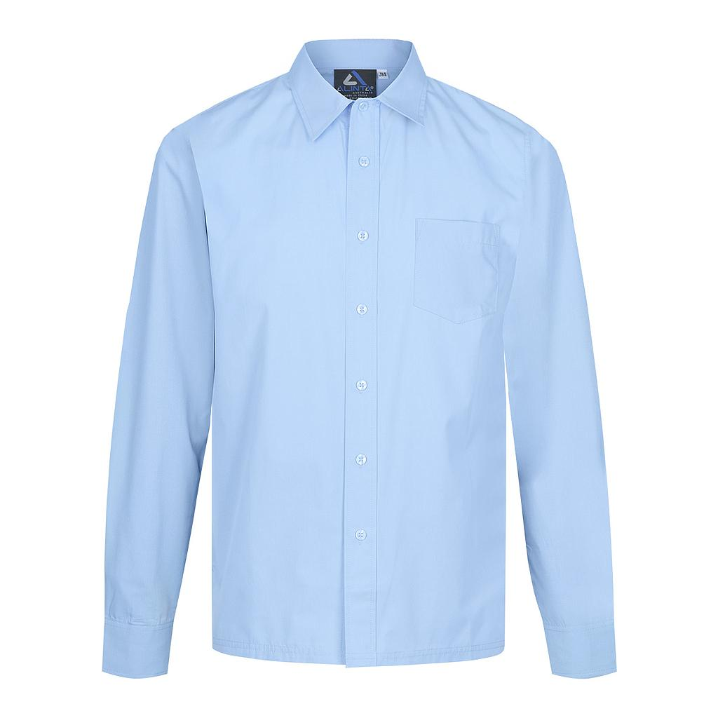 AWH Shirt L/S 2pc Collar GILSB Blue