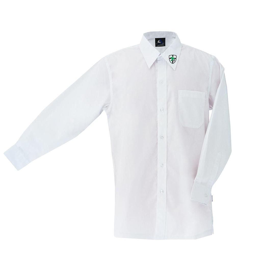 BHC Shirt Boys L/S White P-12