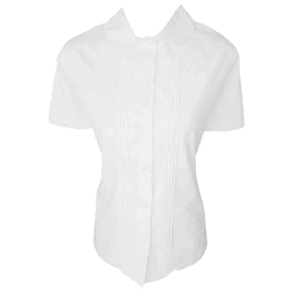 CCA Blouse S/S Girls White K-6