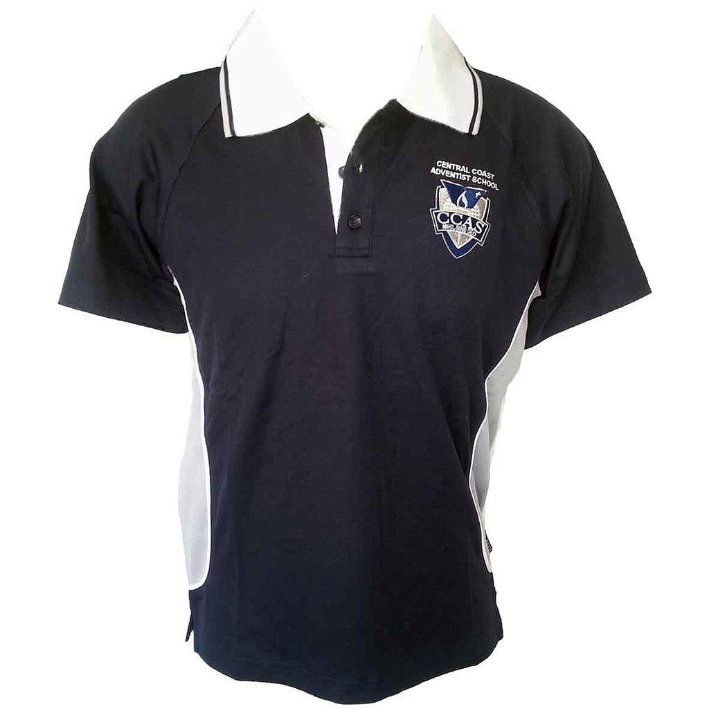 CCA Polo Sports Ink Navy/White 7-12